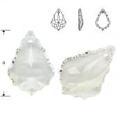 Swarovski 6091 Flat Baroque 28mm Crystal AB