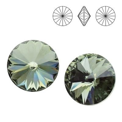 1122 Rivoli 12mm Black Diamond F
