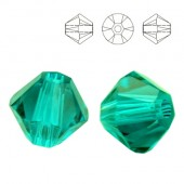 5328 Bicone 4mm Aquamarine 10pcs