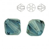 5328 Bicone 4mm Capri Blue 10pcs