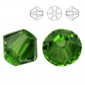 5328 Bicone 6mm Emerald 10pcs