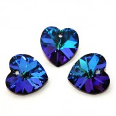 Swarovski 6228 Serce Heart 18mm Bermuda Blue