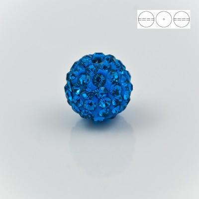 Discoball Bead 8mm Sapphire