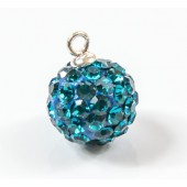 Discoball 10mm Capri Blue