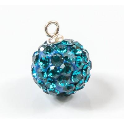 Discoball 10mm Blue Zircon