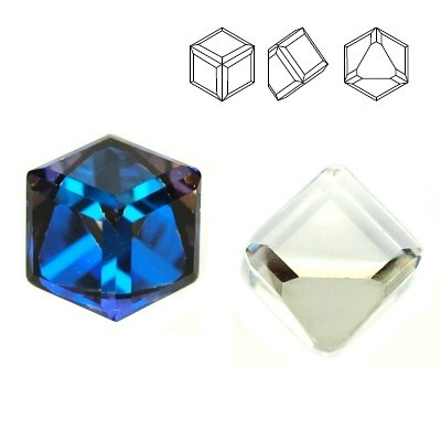 4841 Cube 4mm Bermuda Blue Z