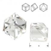 Swarovski 4841 Cube Kostka 4mm Crystal CAVZ
