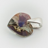 Swarovski Heart Pendant 10mm Crystal