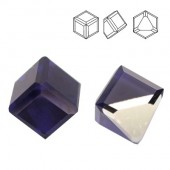 Swarovski 4841 Cube Kostka 4mm Purple Velvet