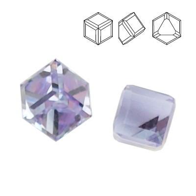 4841 Cube 4mm  Violet CAVZ