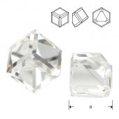 4841 Cube 6mm Crystal CAVZ