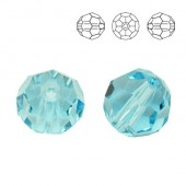 Swarovski 5000 Beads Round 10mm Aquamarine
