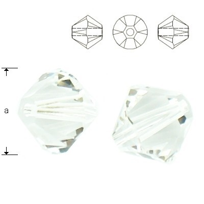 5328 Bicone 4mm Crystal 10pcs
