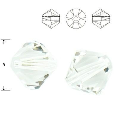 Swarovski 5328 Bicone 4mm Crystal 10szt