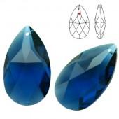 8721 Pear Shape 38mm Blue Violet