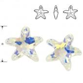 6721 Starfrish 16mm Crystal Blue AB