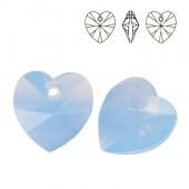 6228 Xilion Heart 10mm Aquamarine
