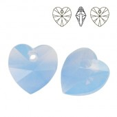 Swarovski 6228 Serce Heart 10mm Aquamarine