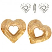 Swarovski 6262 Miss U Heart 17mm Crystal AB
