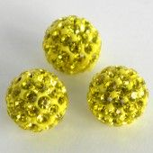 Discoball Bead 10mm Rose
