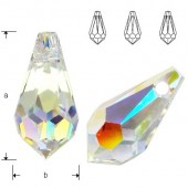 Swarovski 6000 Drop 15x7,5mm Crystal AB