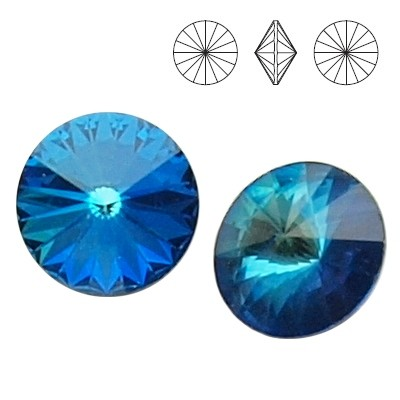 1122 Rivoli 12mm Bermuda Blue F