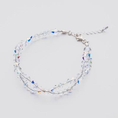 Bicone bracelet  Swarovski Crystal AB - BR5328 CAB