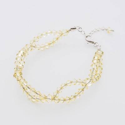 Bicone bracelet  Swarovski Jonquil - BR5328 JONQ