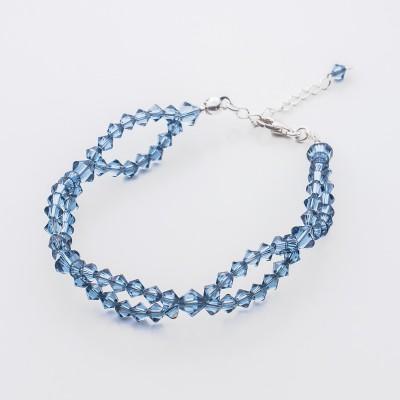 Bicone bracelet  Swarovski Denim Blue - BR5328 DB
