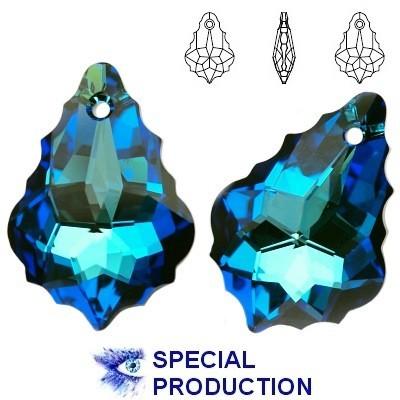 6090 Baroque 22mm Bermuda Blue
