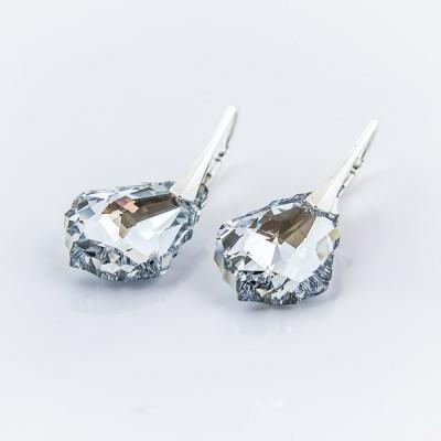 Swarovski Baroque Earrings 22mm Crystal CAL