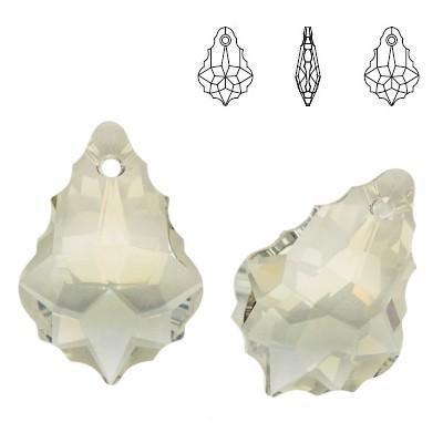 6090 Baroque 22mm Crystal Silver Shade