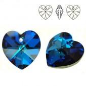 6228 Xilion Heart 14mm Bermuda Blue