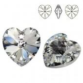 6228 Xilion Heart 10mm Crystal AB