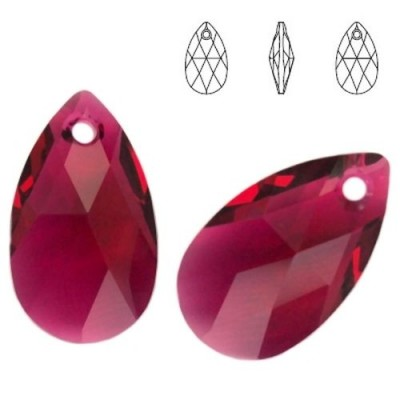 Swarovski 6106 Migdał 22mm Ruby