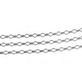 Łańcuszek Rombo pojedynczy R1 50 10cm