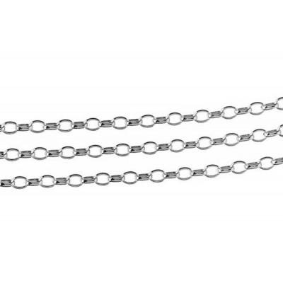 Łańcuszek Rolo 0,35x0,60 metraż - 10cm