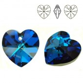 Swarovski 6228 Serce Heart 10mm Vitrail Medium