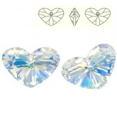 Swarovski 6260 Crazy 4 U Heart 17mm Crystal