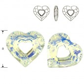 Swarovski 6262 Miss U Heart 17mm Crystal
