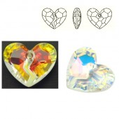 6263 Forever 1 Heart 36mm Crystal