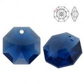 8115 Octagon 14mm Crystal