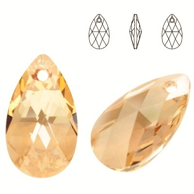6106 Pear-shaped 28mm Golden Shadow