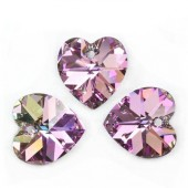 Swarovski 6228 Serce Heart 14mm Vitrail Light