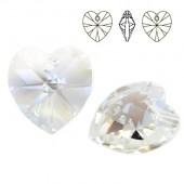 6228 Xilion Heart 28mm Crystal AB
