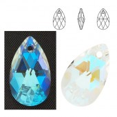 6106 Pear-shaped 22mm Crystal Glacier Blue