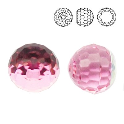 4869 Ball 6mm Light Rose CAVZ