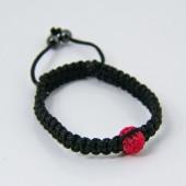 Shamballa Bracelet 1x 10mm Crystal