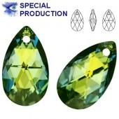 6106 Pear-shaped 22mm Crystal Glacier Blue
