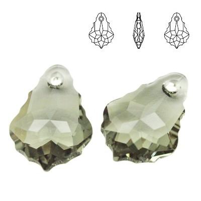 6090 Baroque 22mm Black Diamond